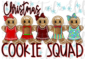 Gingerbread Christmas Cookie Squad