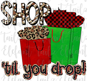 Christmas Shop Til You Drop