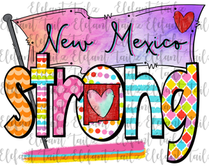 Colorful New Mexico Strong