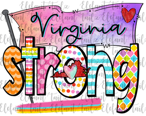 Colorful Virginia Strong