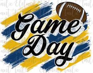 Game Day Football Navy & Gold