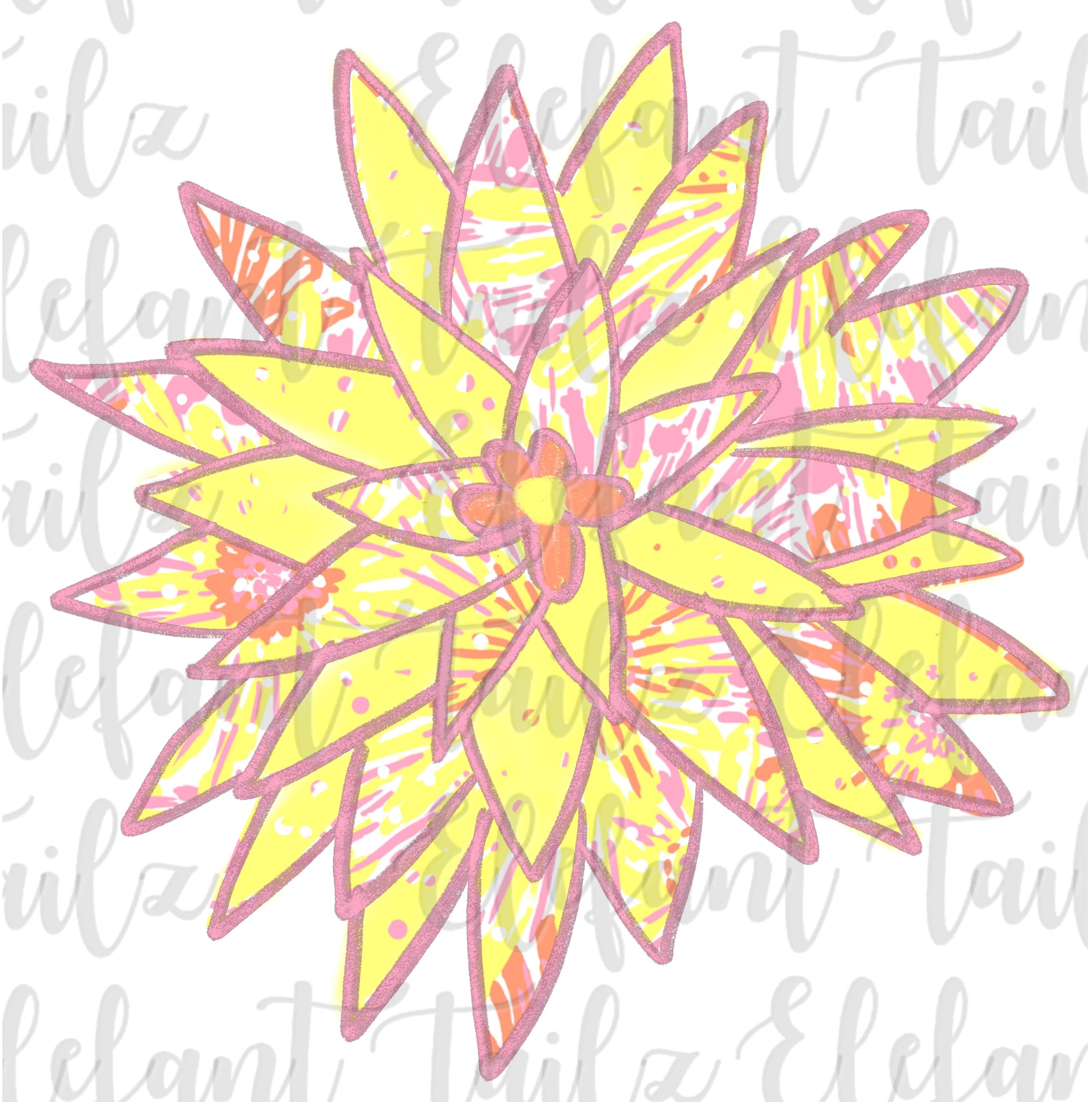 Lilly Pulitzer Sunkissed Flower #3