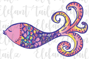 Lilly Pulitzer Whimsical Sea Fish