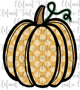 Matilda Jane Yellow Dot Pumpkin