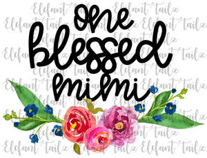 One Blessed Mimi