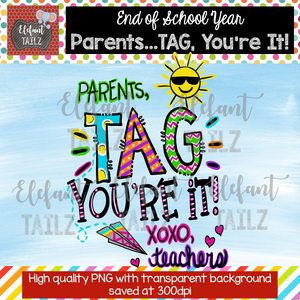 Parents, Tag You're It!