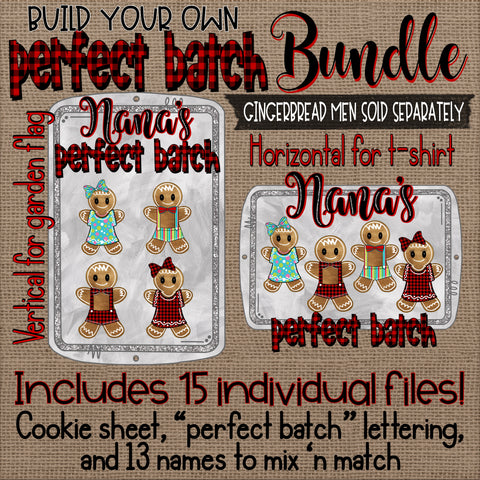 Build Your Own Perfect Batch Gingerbread Bundle