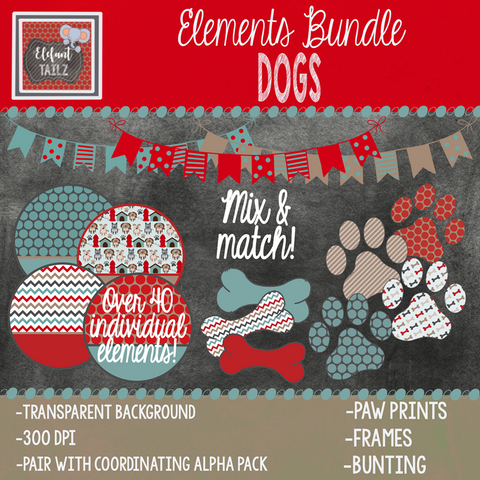 Dogs Elements BUNDLE