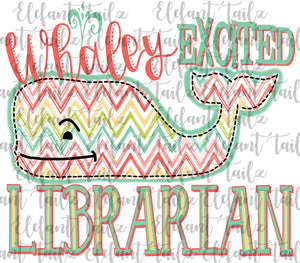 Whaley Excited Librarian