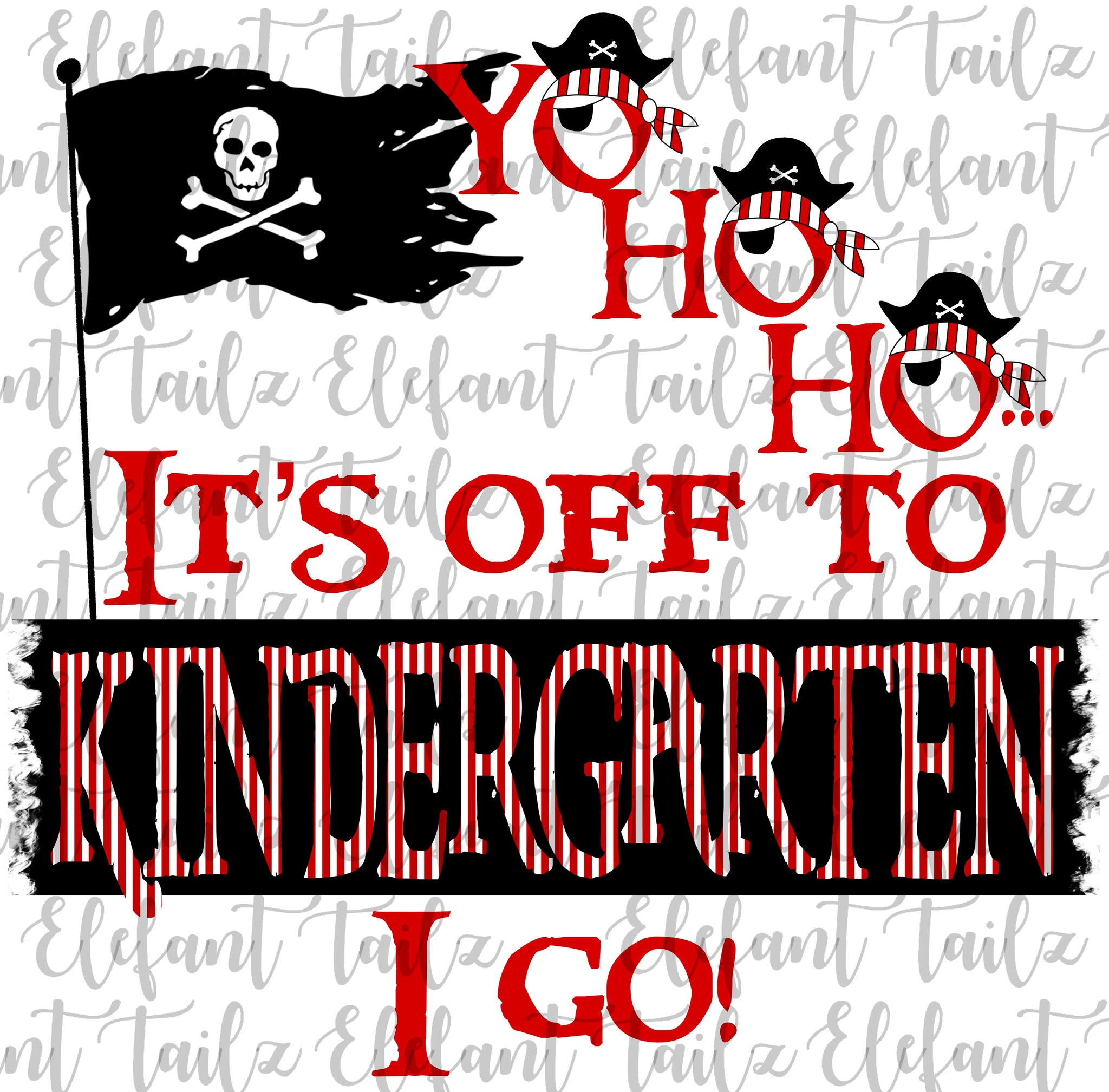 Yo Ho Ho Pirate Kindergarten