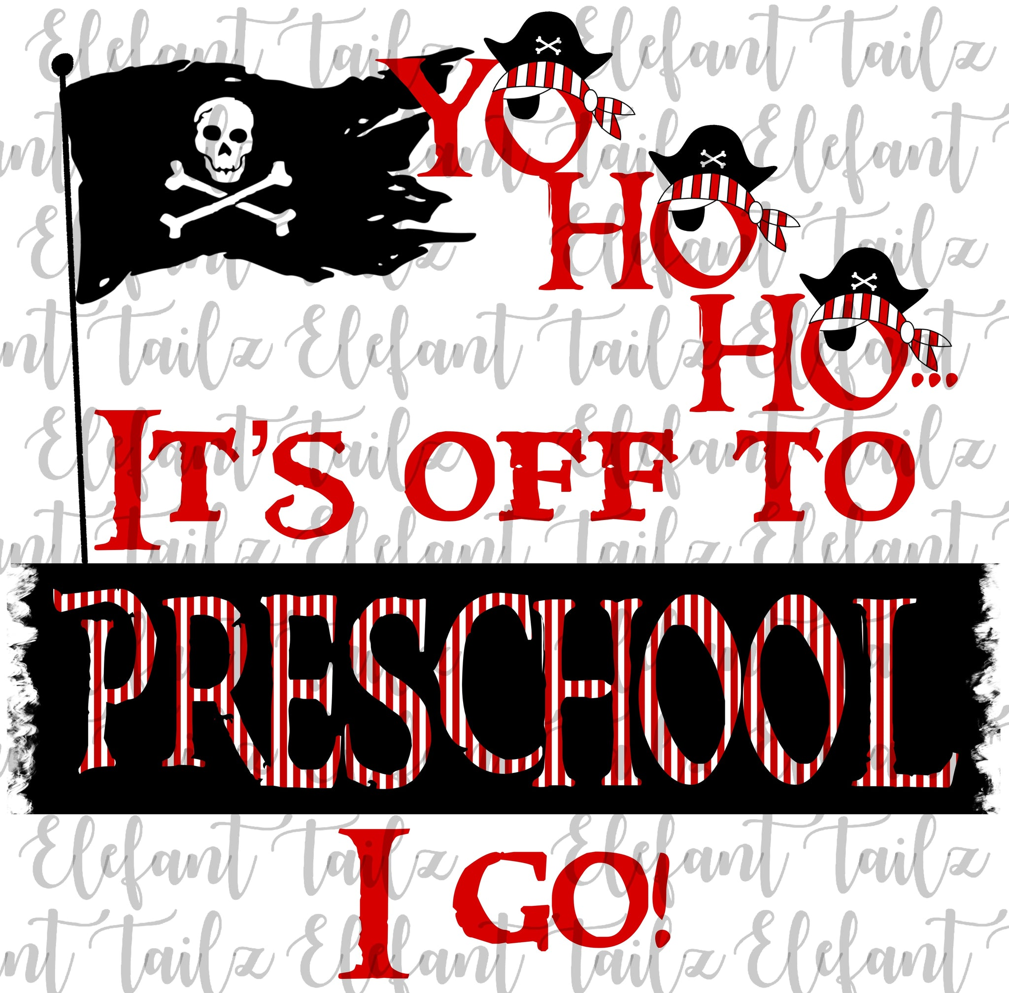Yo Ho Ho Pirate Preschool