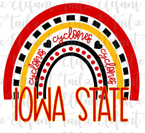 Iowa State Cyclones Rainbow
