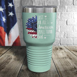 American Small Town Girl Color Printed Tumbler
