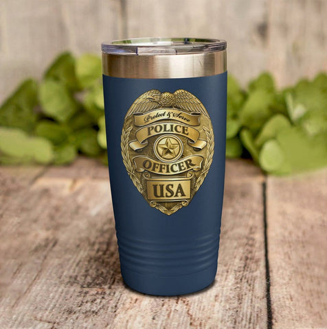 Blessed Are The Peacemakers Personalized Full Color Wrap Tumbler