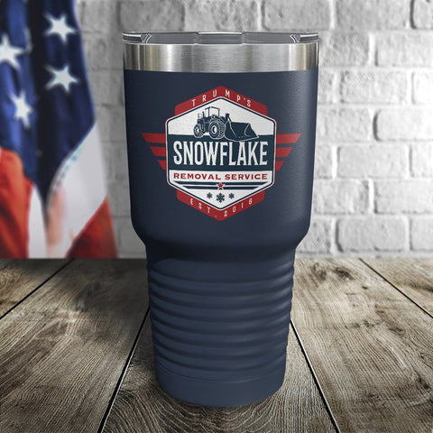 Trump's Snowflake Removal Service Color Printed Tumbler