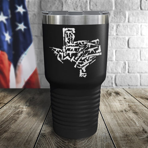 Texas Guns Color Printed Tumbler