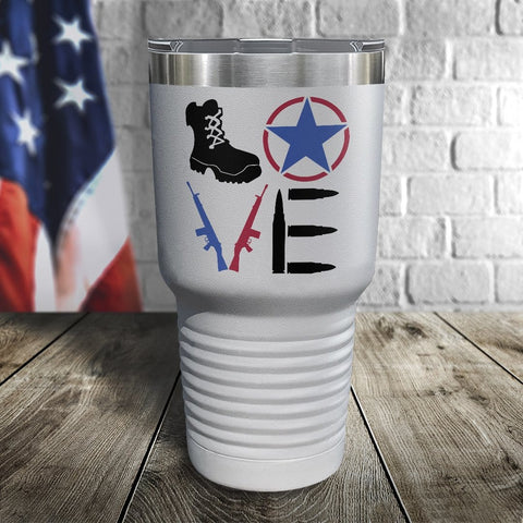 Love Color Printed Tumbler