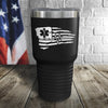EMS Tethered Flag Color Printed Tumbler