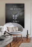 US Air Force Veteran Premium Canvas