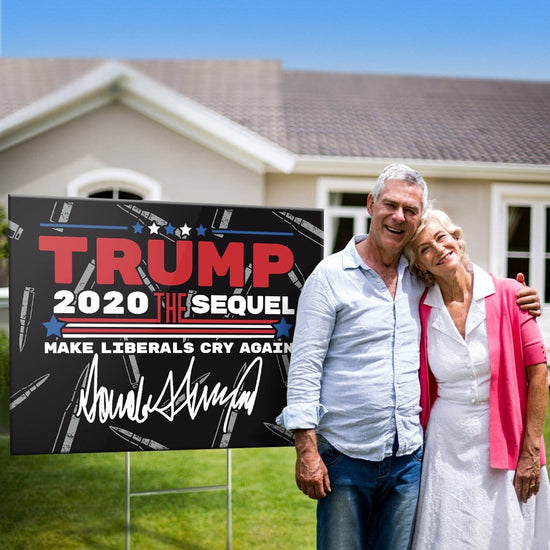 Fully Loaded Trump The Sequel Signature Yard Sign