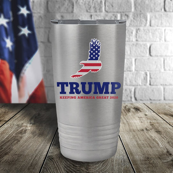 Trump Keeping America Great Color Printed Tumbler