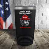 SALE! Smokey The Bear Socialism Color Printed Tumbler