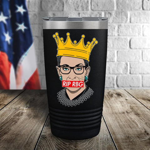 RIP RBG Color Printed Tumbler