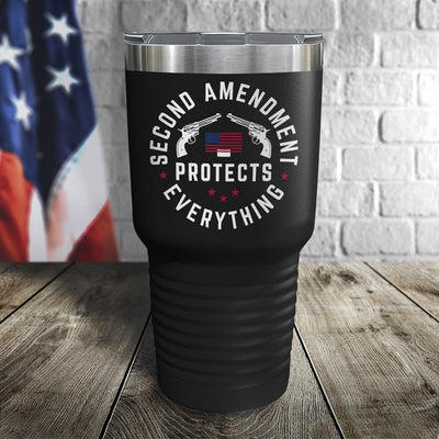 The Second Amendment Color Printed Tumbler