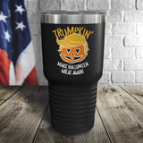 Trumpkin Make Halloween Great Again Color Printed Tumbler