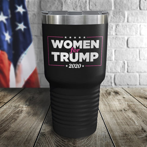 Women For Trump Color Printed Tumbler
