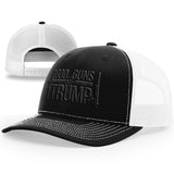God, Guns And Trump | Cross & Silencer Gun Hat