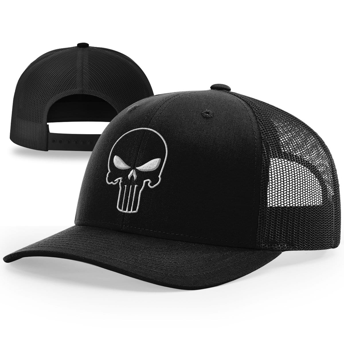 The Punisher Outlined Hat