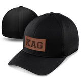KAG Leather Patch Hat