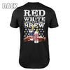 White, Red & Brew T-Shirt