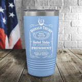 Trump J.D. Color Printed Tumbler
