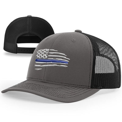 Thin Blue Line Tethered Flag Hat