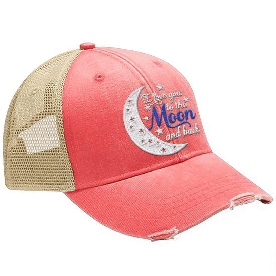 Love You to the Moon and Back Hat