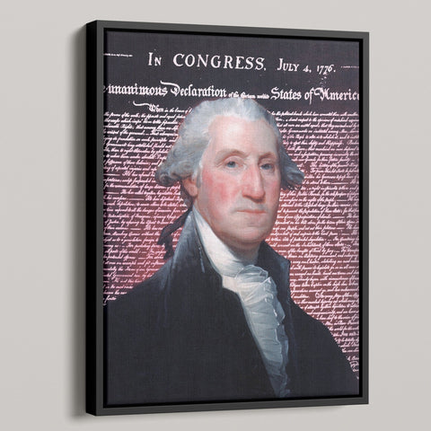 George Washington Premium Canvas