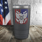 Liberty Or Death Color Printed Tumbler