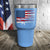 US Weapon Flag Color Printed Tumbler