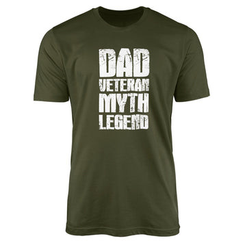 Dad Veteran Myth Legend