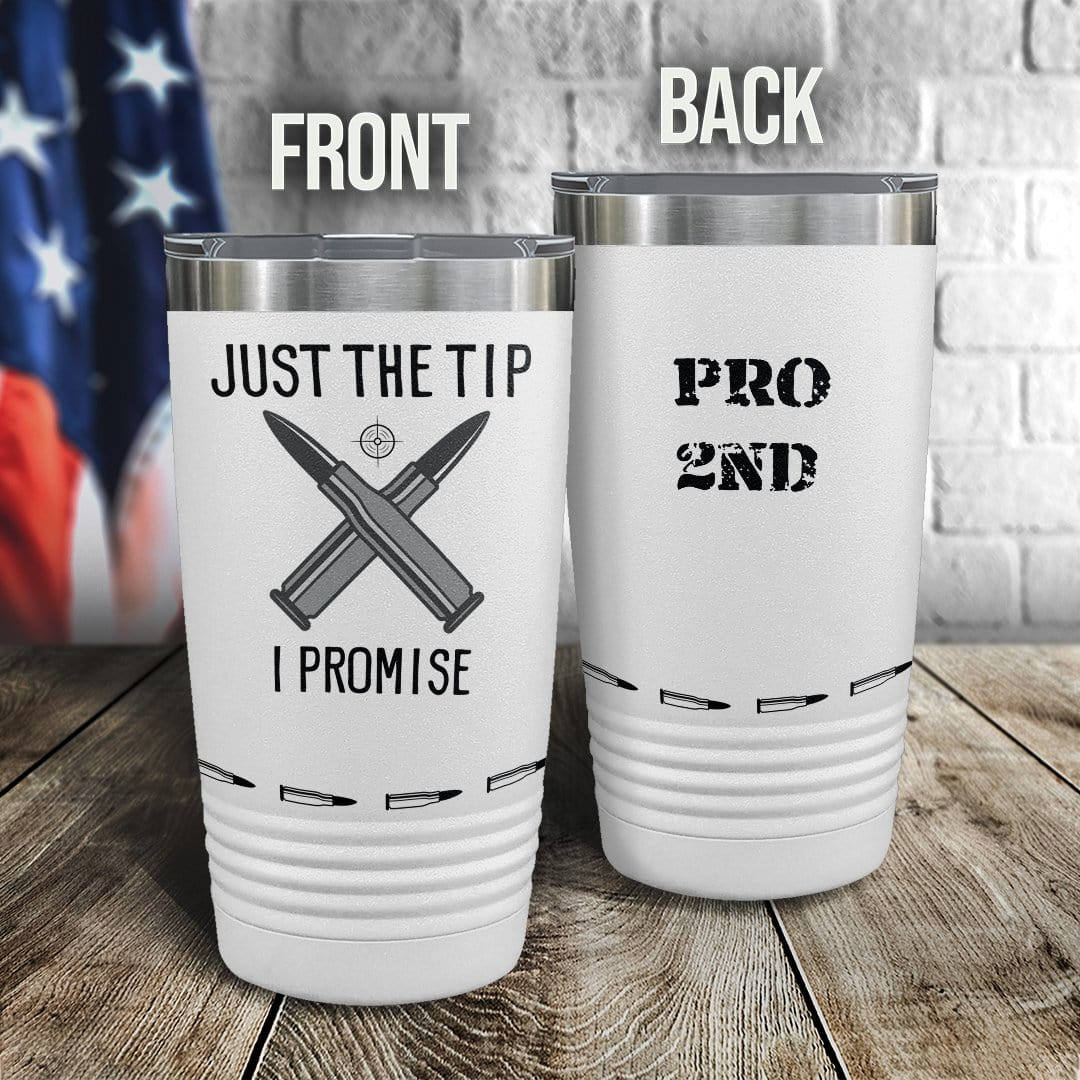 PRO 2nd Amendment  Full Color Wrap Tumbler