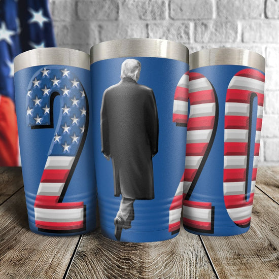 Trump 2020 Full Color Wrap Tumbler