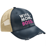 Wife. Mom. Boss. Hat