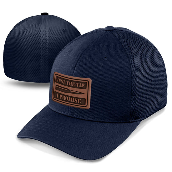 Just The Tip v2 Leather Patch Hat