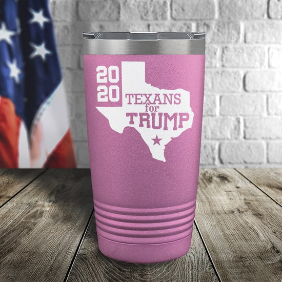 Texans For Trump Color Printed Tumbler