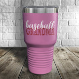 Baseball Grandma Color Printed Tumbler