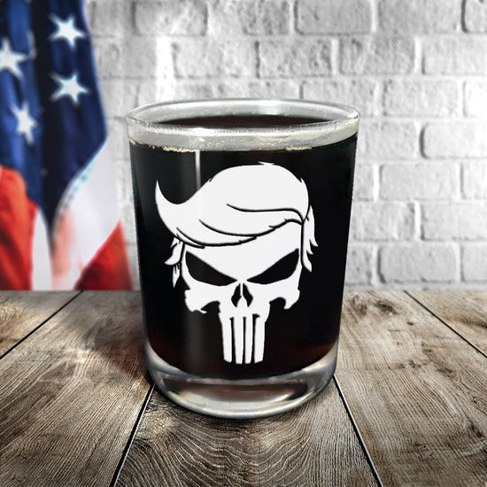 Trump Punisher Glassware