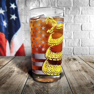 Don't Tread On Me Glassware