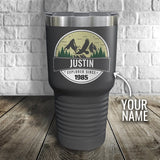 Explorer Personalized Color Printed Tumbler